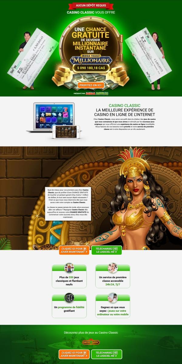 Casino Classic - Casino en ligne