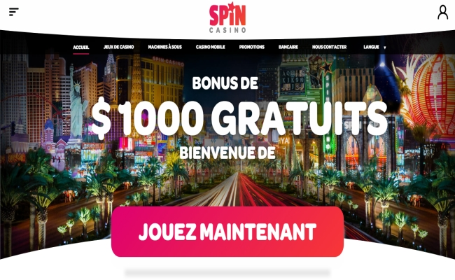 Spin Online Casino