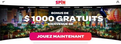 Jouer a la Machine a sous Progressive MEGA MOOLHA chez Spin Casino chez Spin Casino